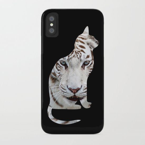 BIG AND SMALL CAT iPhone Case