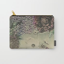 Metallic Botany Carry-All Pouch