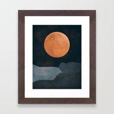 FULL MOON 2 Framed Art Print