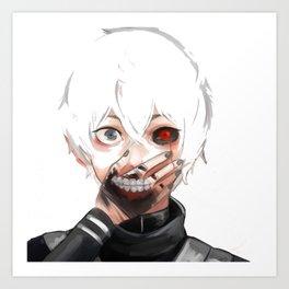 Kaneki Ken Tokyo Ghoul Art Print