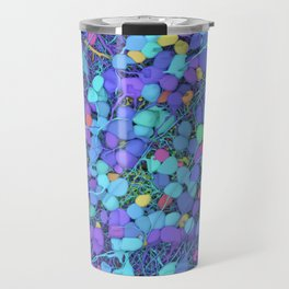 Sea of Cells Travel Mug