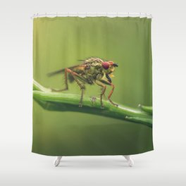 The monsters are others Shower Curtain