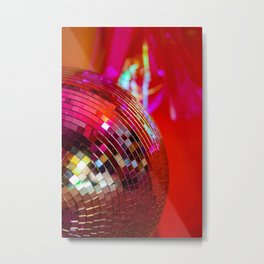 Disco Dreams Metal Print