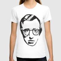 woody allen T-shirts featuring Woody Allen by Black Neon