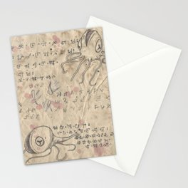 Book of Nightmares, Hungry Mouths Stationery Cards