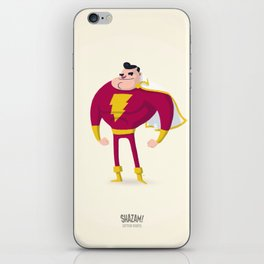 SHAZAM! Captain Marvel iPhone Skin