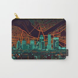 louisville skyline abstract 2 Carry-All Pouch