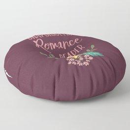 Unapologetic Romance Reader Floor Pillow