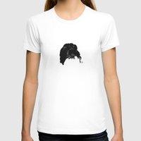 audrey T-shirts featuring Audrey by Jeanne Bornet
