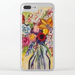Bouquet Clear iPhone Case