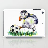 football iPad Cases featuring Football by Anna Shell