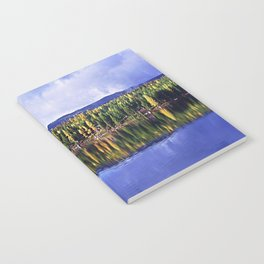 Inez Lake Montana Panorama Notebook