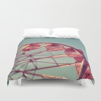 number Duvet Covers featuring Number 15 by Alicia Bock