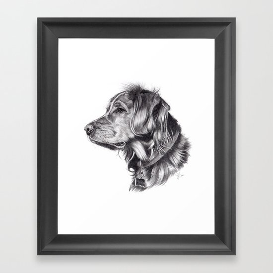 Retriever Framed Art Print