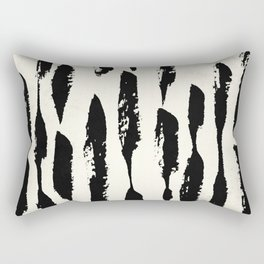 Tribal Paint Stripes Rectangular Pillow