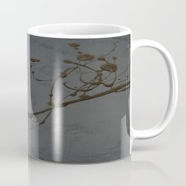 Black And Gray Abstract Jackson Pollock Inspired Study In Black - Gothic Glam - Corbin Henry Coffee Mug