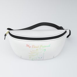 Horse Lover My Best Friend is My Horse  Fanny Pack