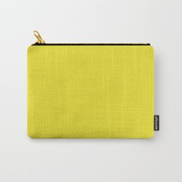 Yellow Highlighter Solid Summer Party Color Carry-All Pouch