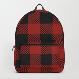 Buffalo Check Plaid Backpack