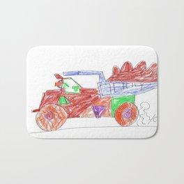 Very Useful Dump Truck Bath Mat
