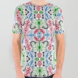 Funny bugs going for a beautiful choreography pattern design All Over Graphic Tee