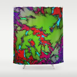 Enclosed gardens Shower Curtain
