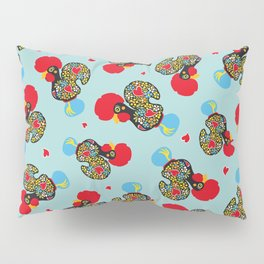 Rooster of Barcelos   Portuguese Lucky Charm Pillow Sham