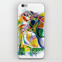 bookworm iPhone & iPod Skins featuring Bookworm by CrismanArt