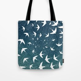 Birds Circle Tote Bag