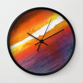Energy Gradient Wall Clock