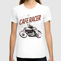 cafe racer T-shirts featuring Rise of the Cafe Racer II by RiseoftheCafeRacer