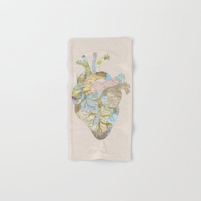 A Traveler's Heart (N.T) Hand & Bath Towel