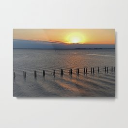 The Tipping Point Metal Print