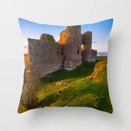 Castle Roche - Ireland Print(RR 256) Throw Pillow