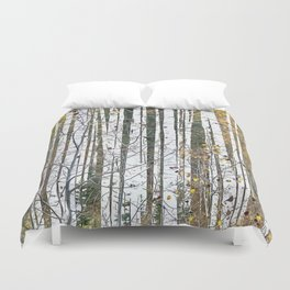 Aspensary forests Duvet Cover