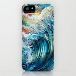 The Rainbow Wave iPhone Case