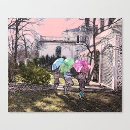 3 Umbrella's! Canvas Print