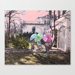 3 Umbrella's! Canvas Print