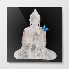 Bouddha's Soul Metal Print