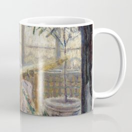Madame Monet Embroidering Coffee Mug