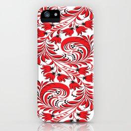Russian Khokhloma iPhone Case