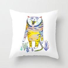 Tiger. tiger art, tiger decor, kids art, Throw Pillow