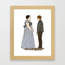 Gush Framed Art Print