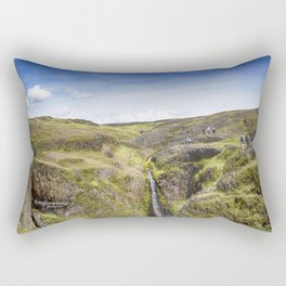 Table Mountain - Superbloom/Waterfall 2017 Rectangular Pillow