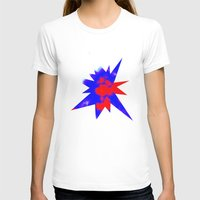 patriotic T-shirts featuring Patriotic Sky by Christy Leigh