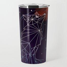 Fox in the Stars Travel Mug