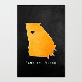 Ramblin' Wreck Canvas Print