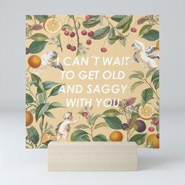 Saggy Love Mini Art Print