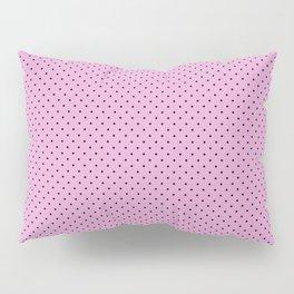 Dots Soft Pink Pillow Sham