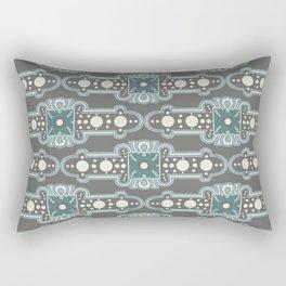 Brooches Pattern Rectangular Pillow